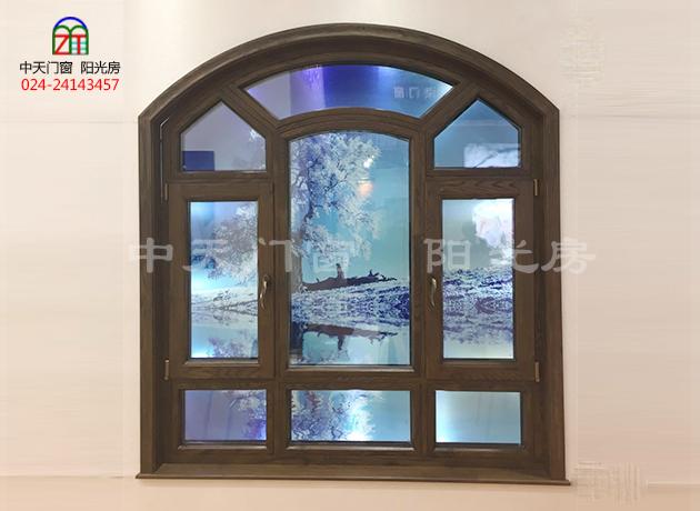 楸木实木门窗