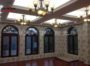 大连欧式铝包木门窗