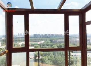 意式铝包木门窗